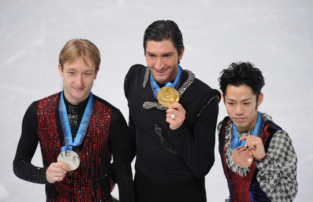 2010 Olympic Men's Figure Skating Medalists