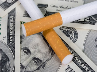 cigs and money
