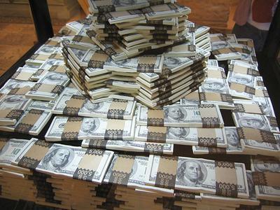mound of money