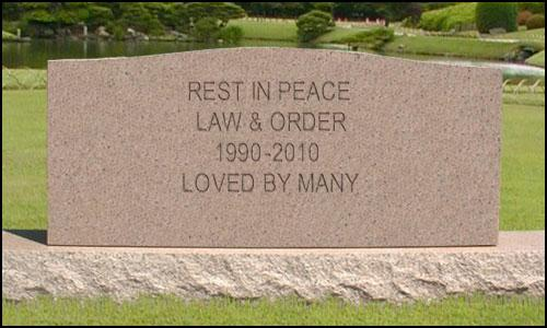 law &amp; order tombstone 2